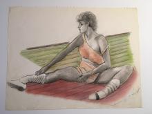 Richard Carle - 1985 Pastel Dancer