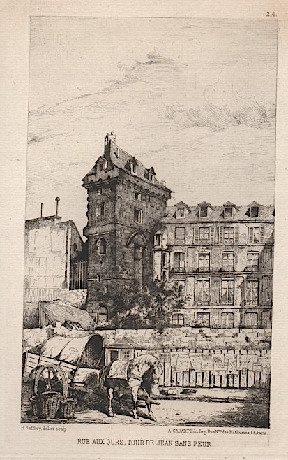 HENRI ALEXANDRE SAFFREY etching