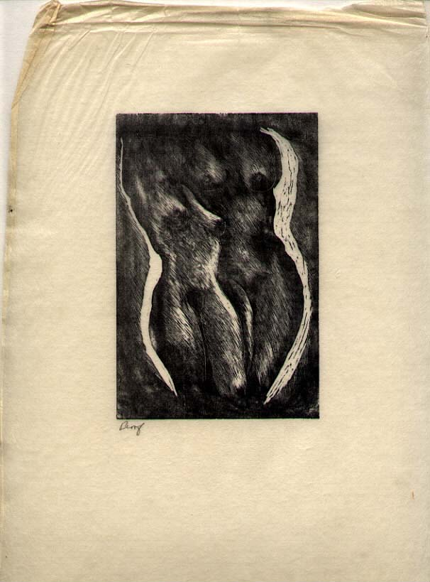 ROY CHARLES FOX (1908-1993) American artist