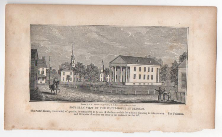 Dedham, Massachusetts 1839