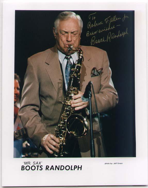 Boots Randolph [1927-2007] saxophone player