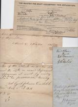 OLD DOCUMENTS - very little description given