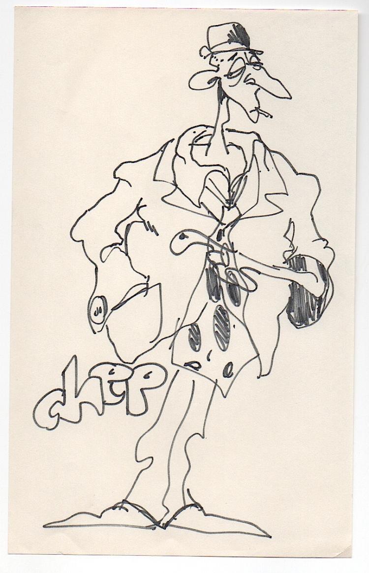 RALPH BAKSHI - American animator/draftsman Drawing