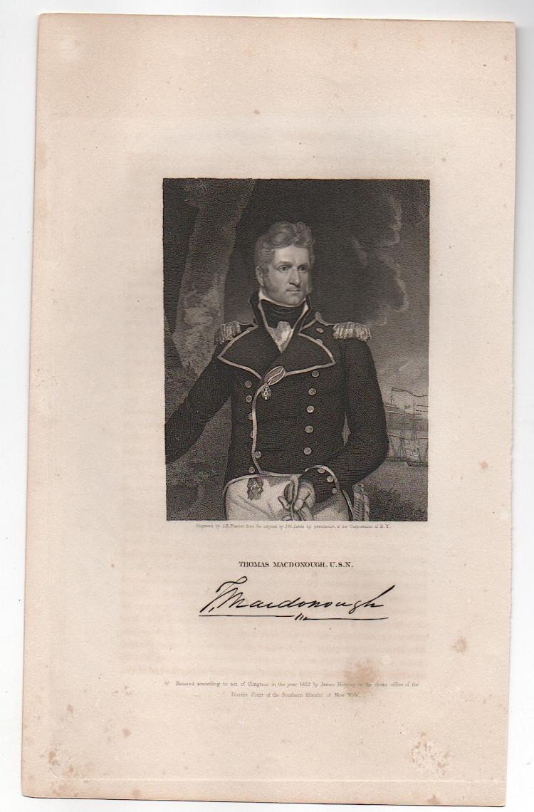 Thomas Macdonough, Jr. (1783-1825)