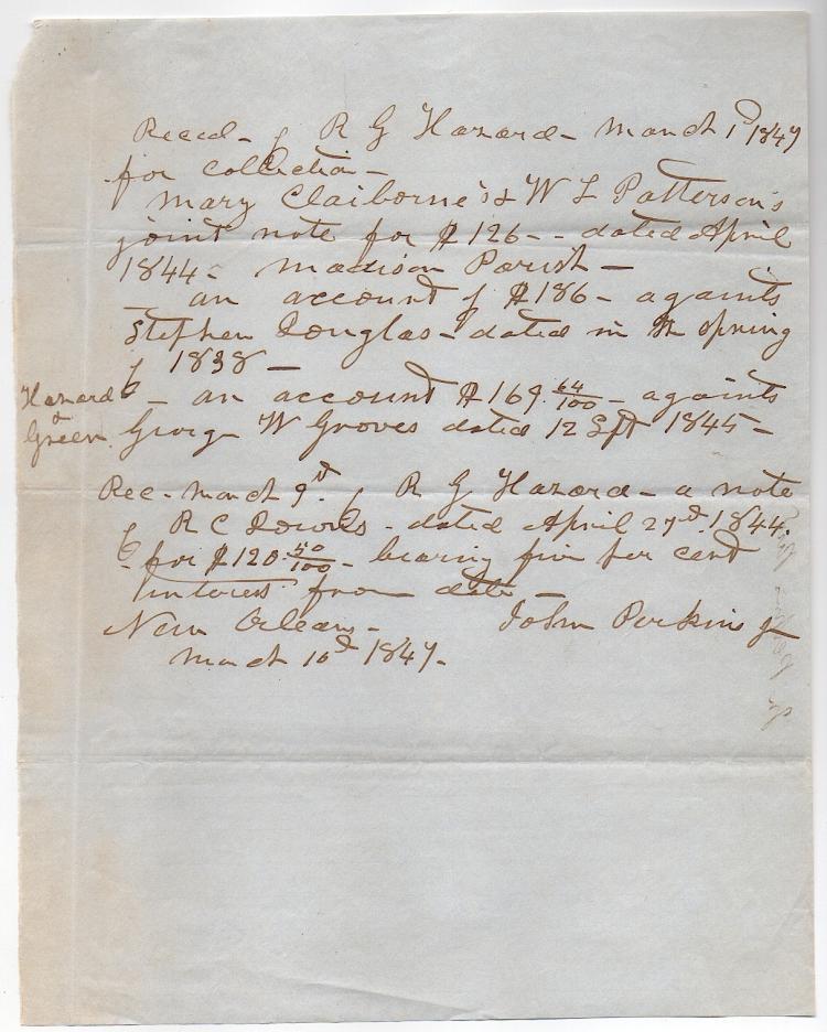 Confederate John Perkins, Jr. (1819-1885) Louisiana