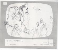 RALPH BAKSHI - American animator/draftsman