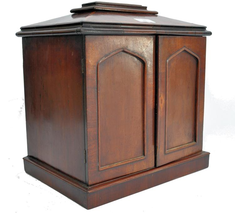 An edwardian mahogany inlaid d for Furniture auctions uk