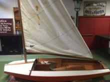 A 1950's French sailing boat -