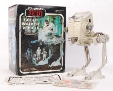 RARE VINTAGE STAR WARS PALITOY SCOUT WALKER VEHICLE