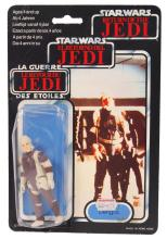 RARE STAR WARS TRI-LOGO CARDED ACTION FIGURE