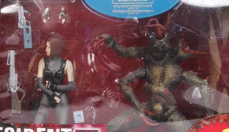 Resident Evil 3 Nemesis Action Figure Set