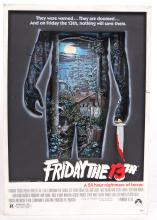 RARE MCFARLANE TOYS POP CULTURE FRIDAY THE 13TH 3D MOVIE POSTER