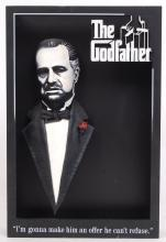 RARE MCFARLANE TOYS POP CULTURE 'THE GODFATHER' 3D MOVIE POSTER