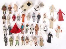 LARGE COLLECTION OF VINTAGE KENNER / PALITOY STAR WARS ACTION FIGURES