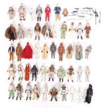 COLLECTION ASSORTED VINTAGE PALITOY / KENNER STAR WARS ACTION FIGURES