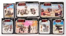 COLLECTION OF VINTAGE PALITOY / KENNER STAR WARS MINI RIG PLAYSETS