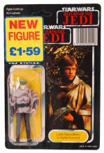 RARE STAR WARS TRI-LOGO LAST 17 CARDED ACTION FIGURE
