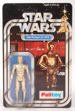 RARE PALITOY STAR WARS 12 BACK FIRST ISSUE C3PO CARDED ACTION FIGURE