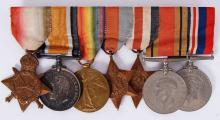 WWI & WWII MEDAL GROUP