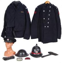 VINTAGE FIREMAN'S OUTFIT