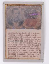 PURPORTED BILLY THE KID 10 CENT NOTE: