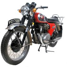 RARE 1968 BSA LIGHTNING MOTORCYCLE