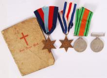 WWII MEDAL GROUP