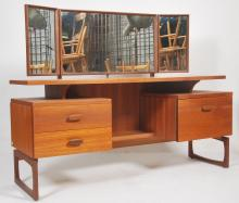 A 1970's teak wood dressing table chest by G-Plan