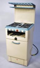 An original vintage mid century enamel oven by mai