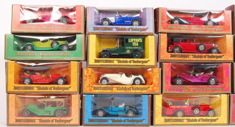 VINTAGE MATCHBOX MODELS OF YESTERYEAR