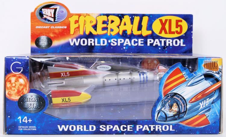 FIREBALL XL5; An original Prod