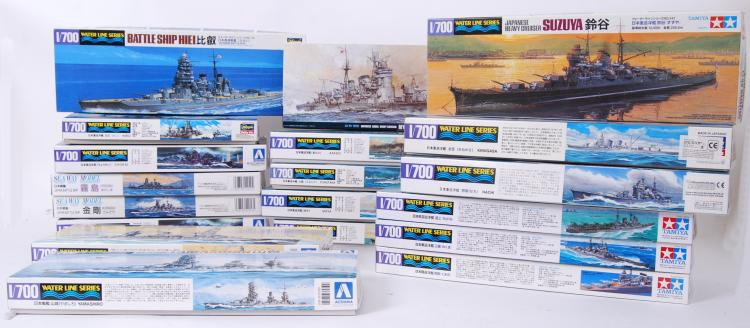 JAPANESE NAVY MODEL KITS: A co