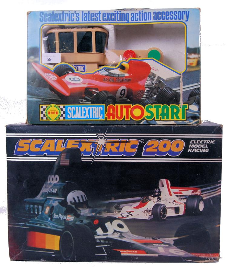 SCALEXTRIC: An original vintag