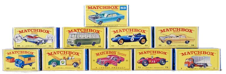MATCHBOX LESNEY: A good collec