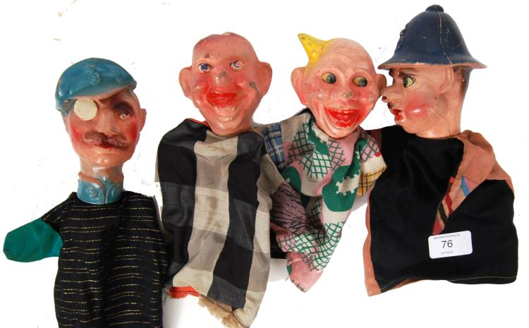 PUPPETS: An unusual collection