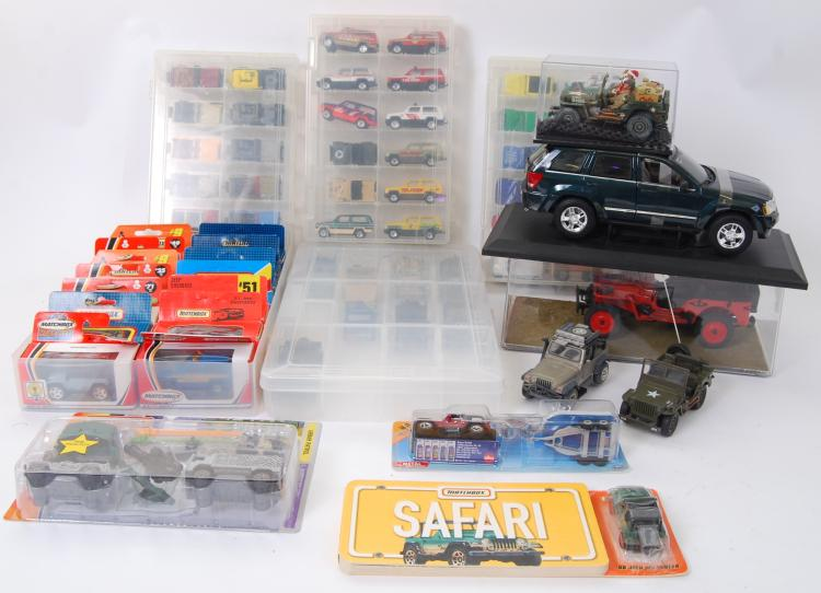 JEEP DIECAST: A collection of
