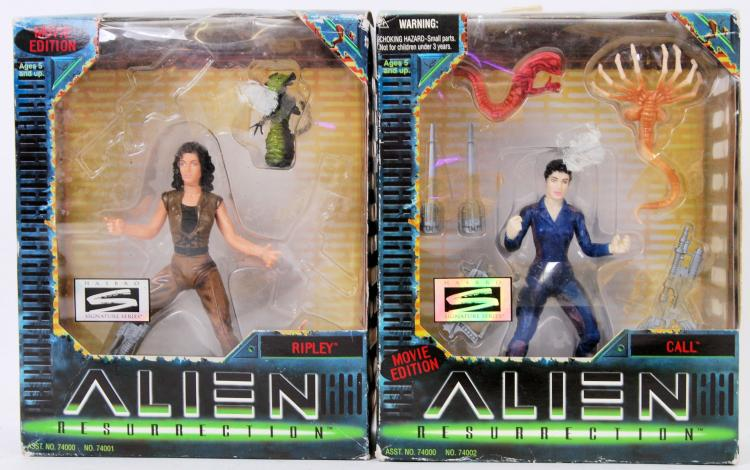 ALIEN: Two original Kenner mad