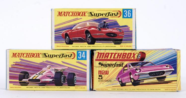 MATCHBOX SUPERFAST: A collecti