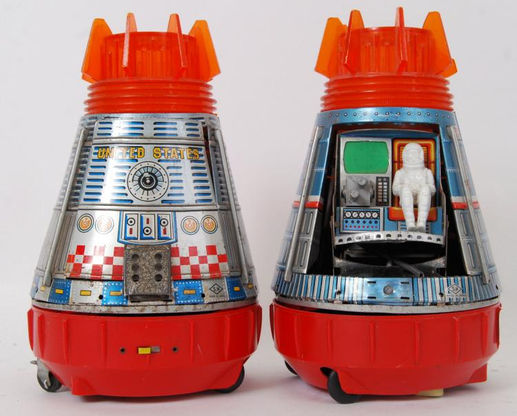 SPACE CAPSULES: Two vintage Ma