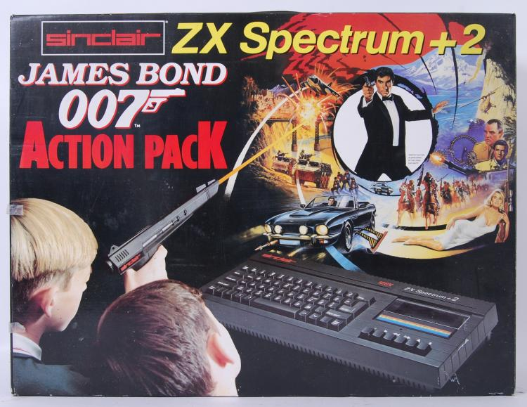 JAMES BOND ZX SPECTRUM: A vint