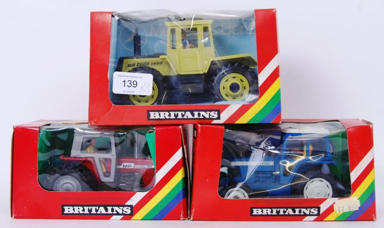 BRITAINS: A collection of 3x v