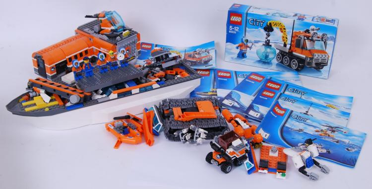 LEGO: A collection of assorted