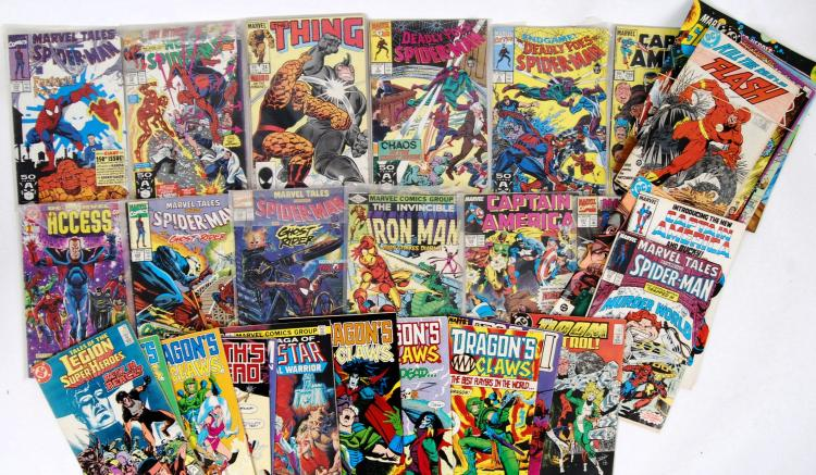 COMIC BOOKS: A collection of v