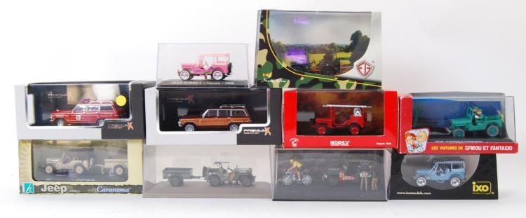 JEEP DIECAST: A good collectio