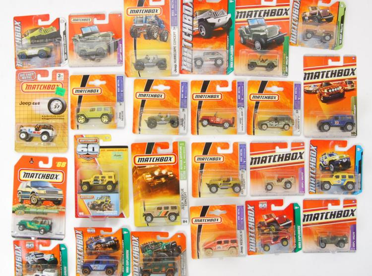 MATCHBOX: A collection of 25x