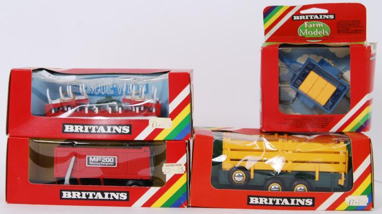 BRITAINS: A collection of 4x v