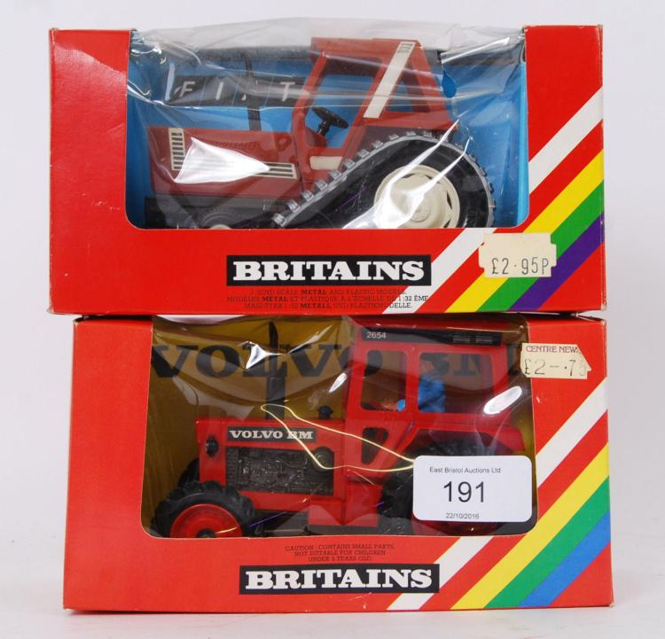 BRITAINS: A collection of 2x v