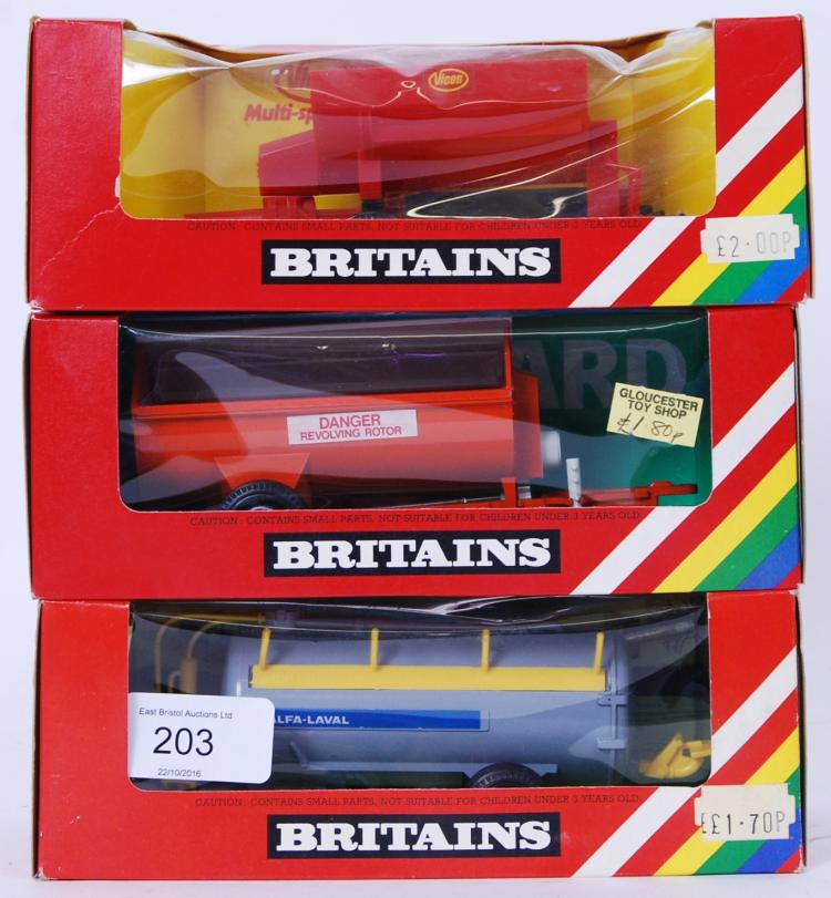 BRITAINS: A collection of 3x B