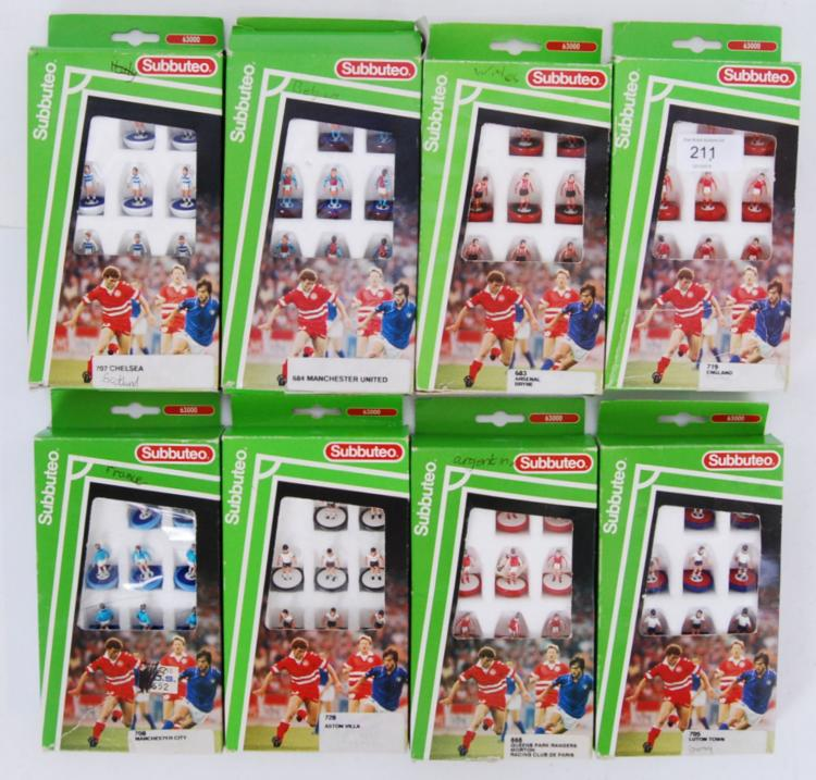 SUBBUTEO: A collection of 8x S