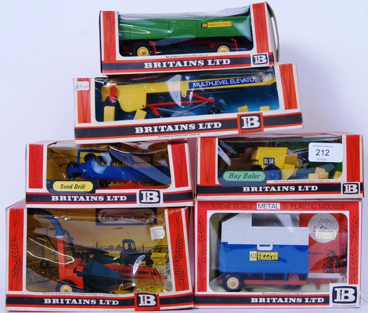 BRITAINS: A collection of 5x B